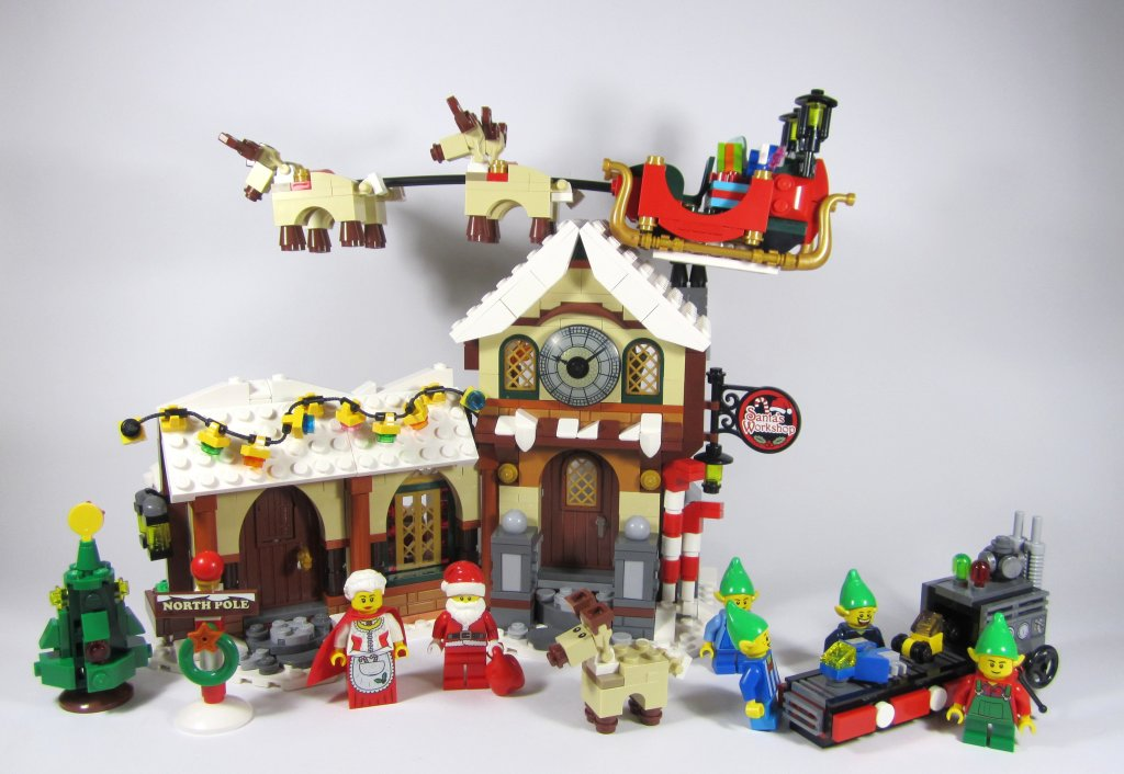Review: LEGO Creator 10245 Santa's Workshop