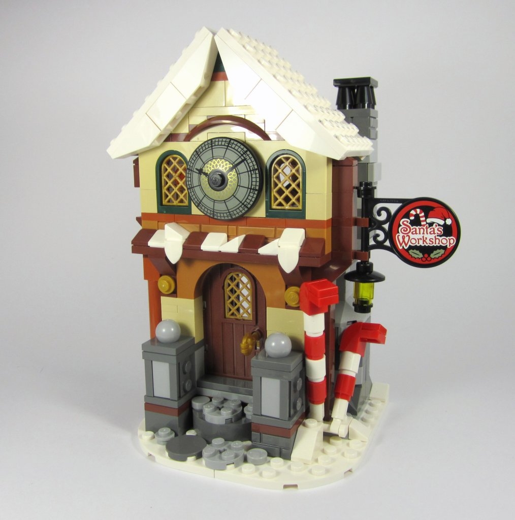 LEGO 10245 Santa's Workshop Bag 1 Build