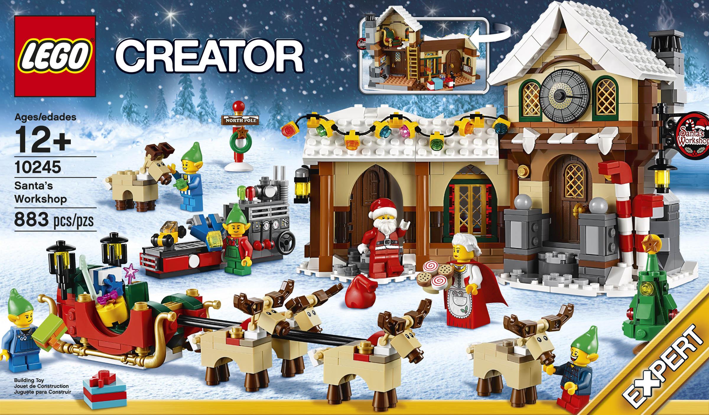 Review: LEGO Creator 10245 Santa's Workshop – Jay's Brick Blog