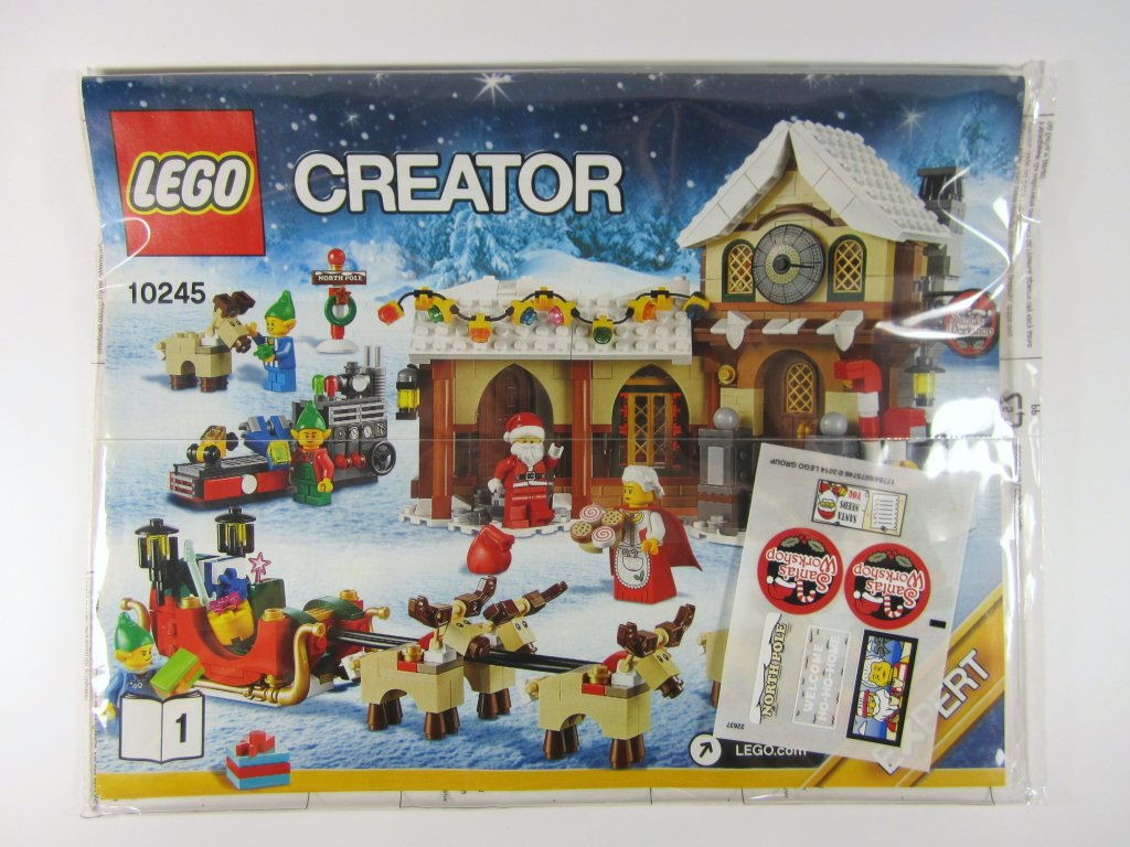 LEGO 10245 Santa's Workshop Manual
