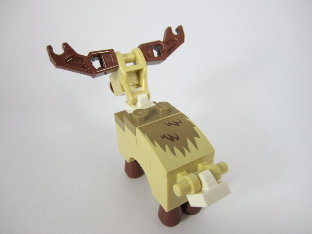 LEGO 10245 Santa's Workshop Raindeer Printed Back