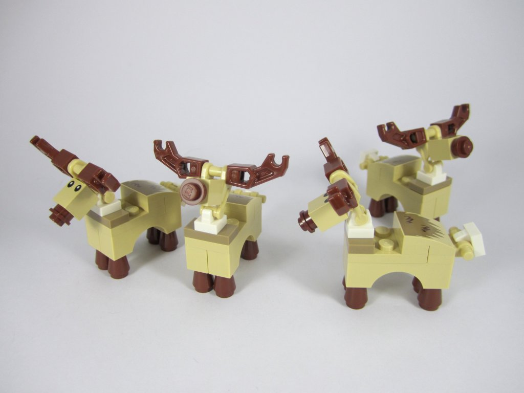 LEGO 10245 Santa's Workshop Reindeer