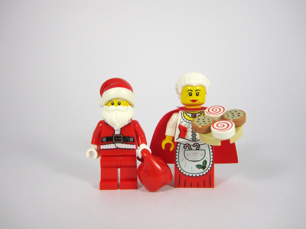 LEGO 10245 Santa's Workshop Santa Claus and Mrs Claus