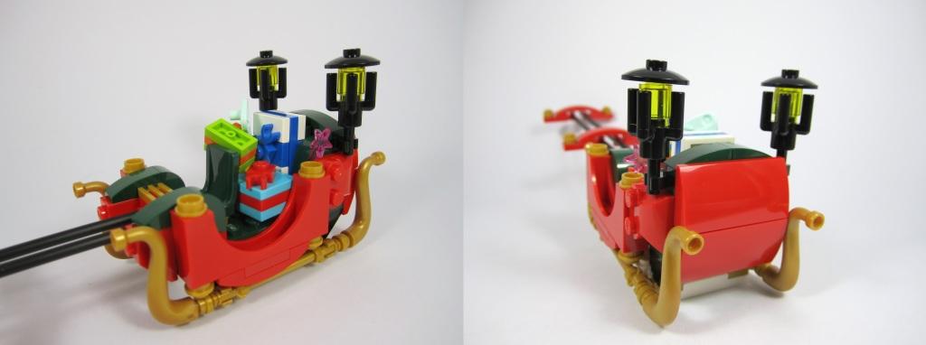 LEGO 10245 Santa's Workshop Santa's Sleigh Details