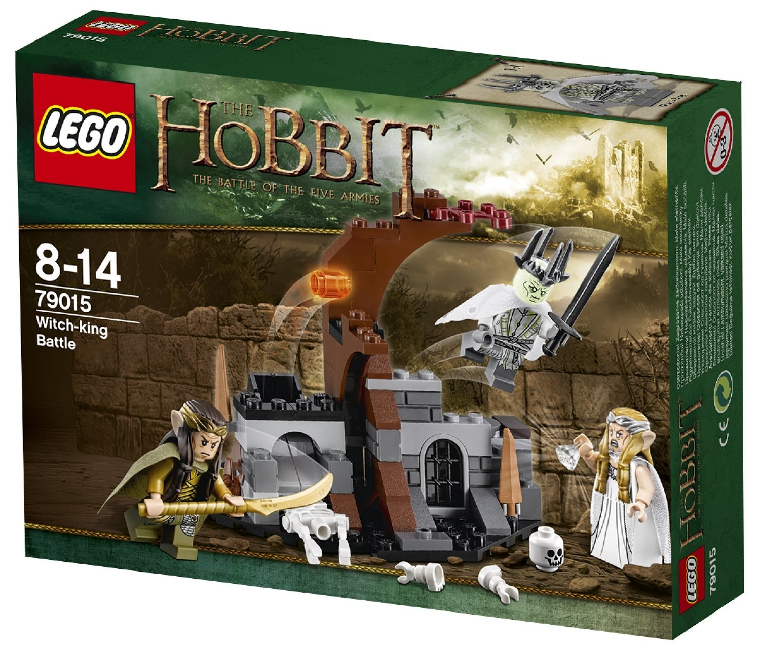 Review Lego The Hobbit 79015 Witch King Battle Jays Brick Blog