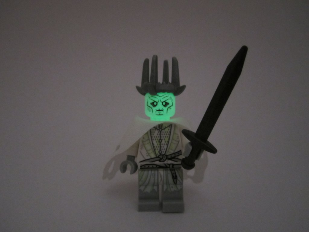 LEGO 79015 Witch King Battle - Glow in the Dark Witch King Head