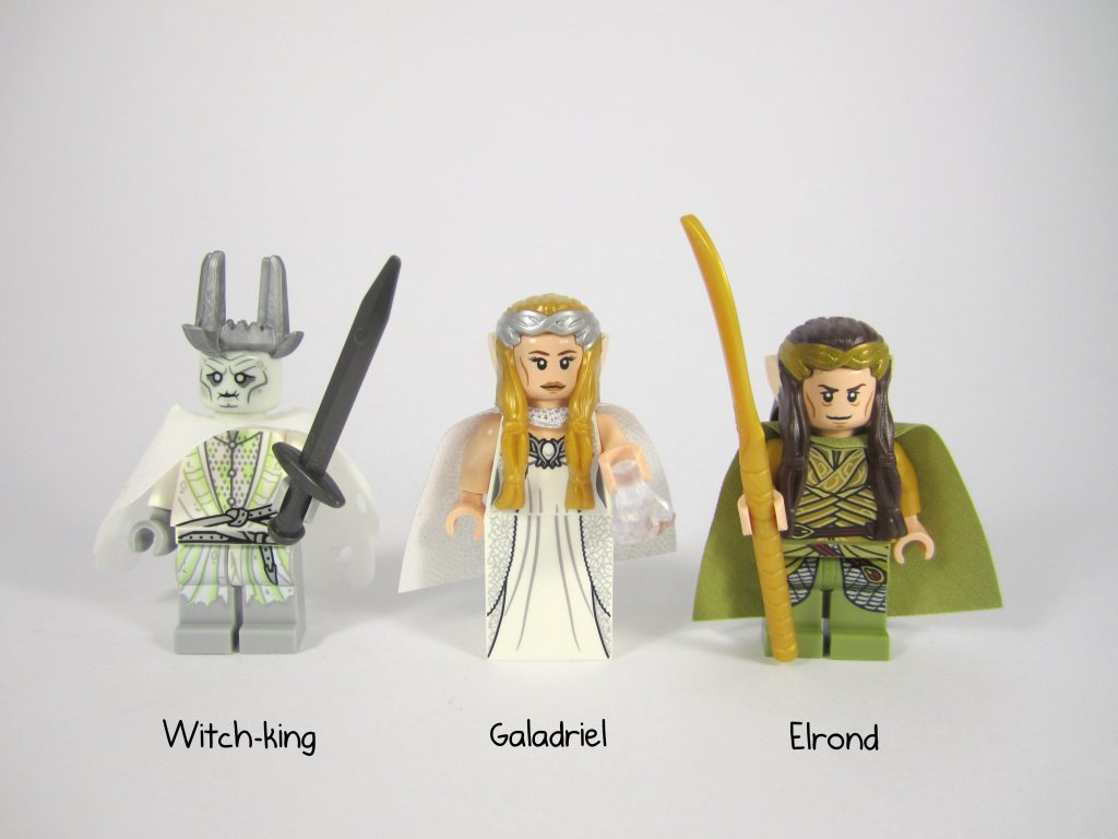 LEGO 79015 Witch King Battle Witch King, Galadriel, Elrond Minifigure