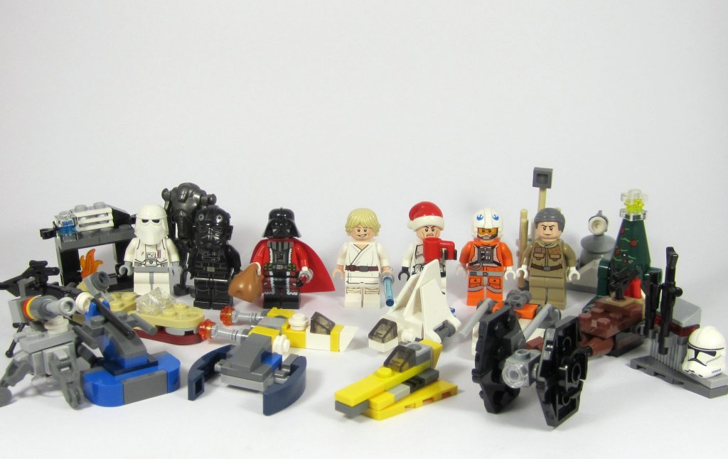 LEGO Star Wars Advent Calendar 2014 All Days
