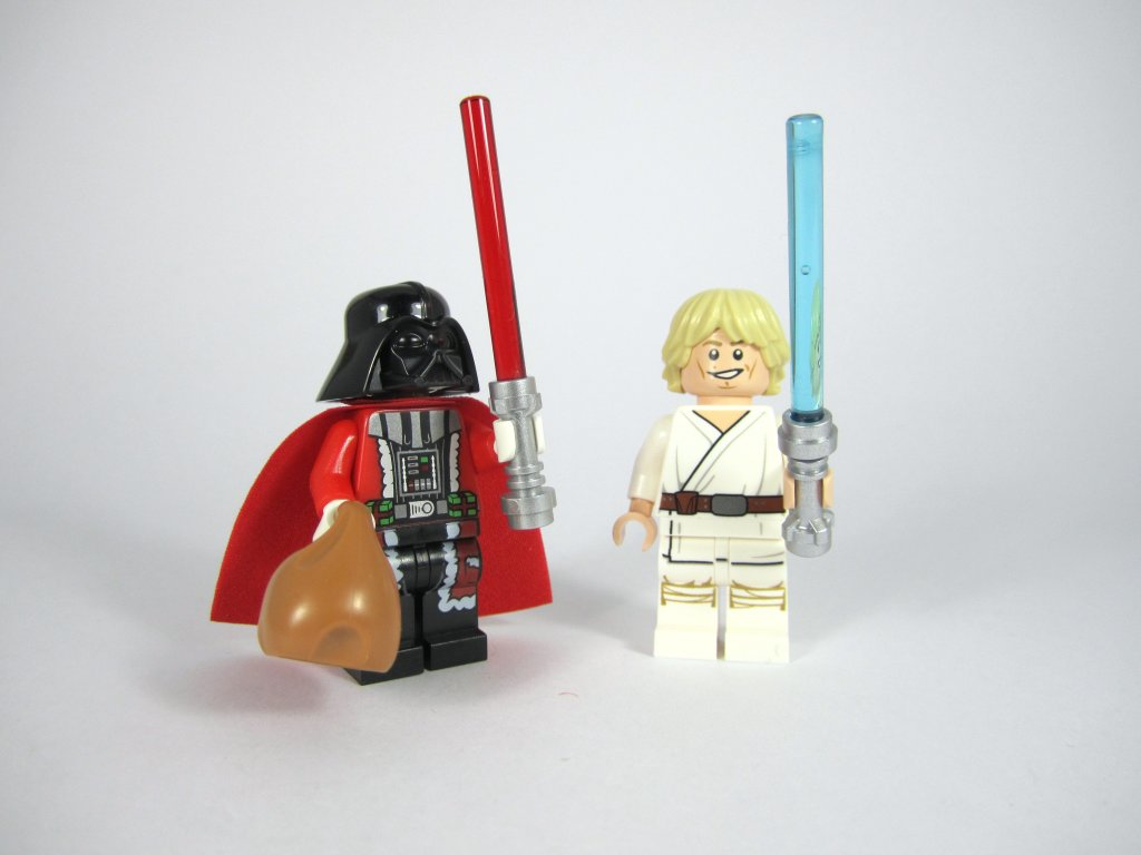 LEGO Star Wars Advent Calendar Darth Vader and Luke