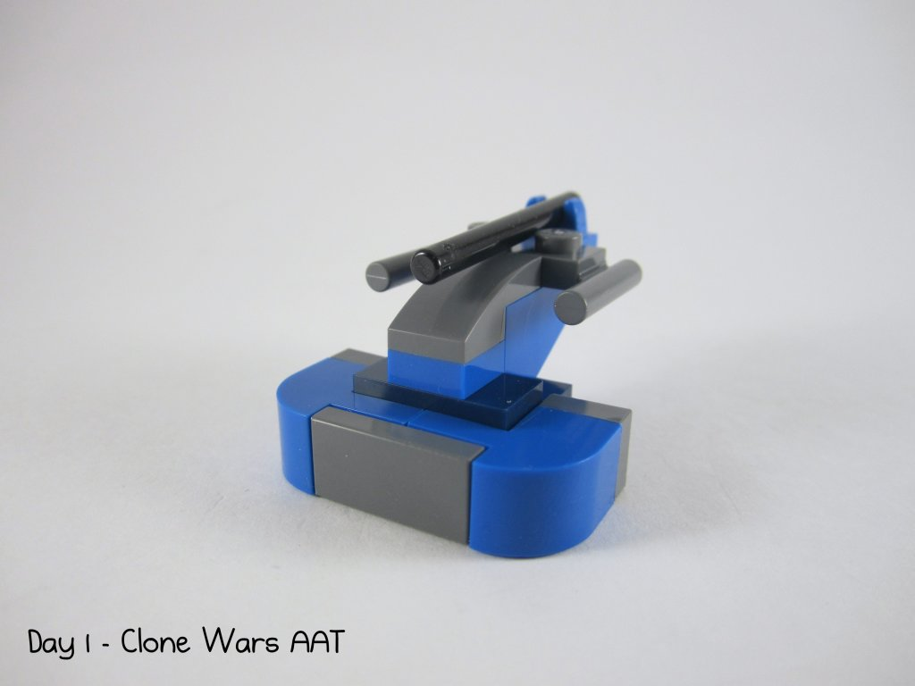 LEGO Star Wars Advent Calendar Day 1 - AAT