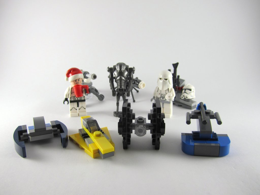 LEGO Star Wars Advent Calendar Day 10 So Far