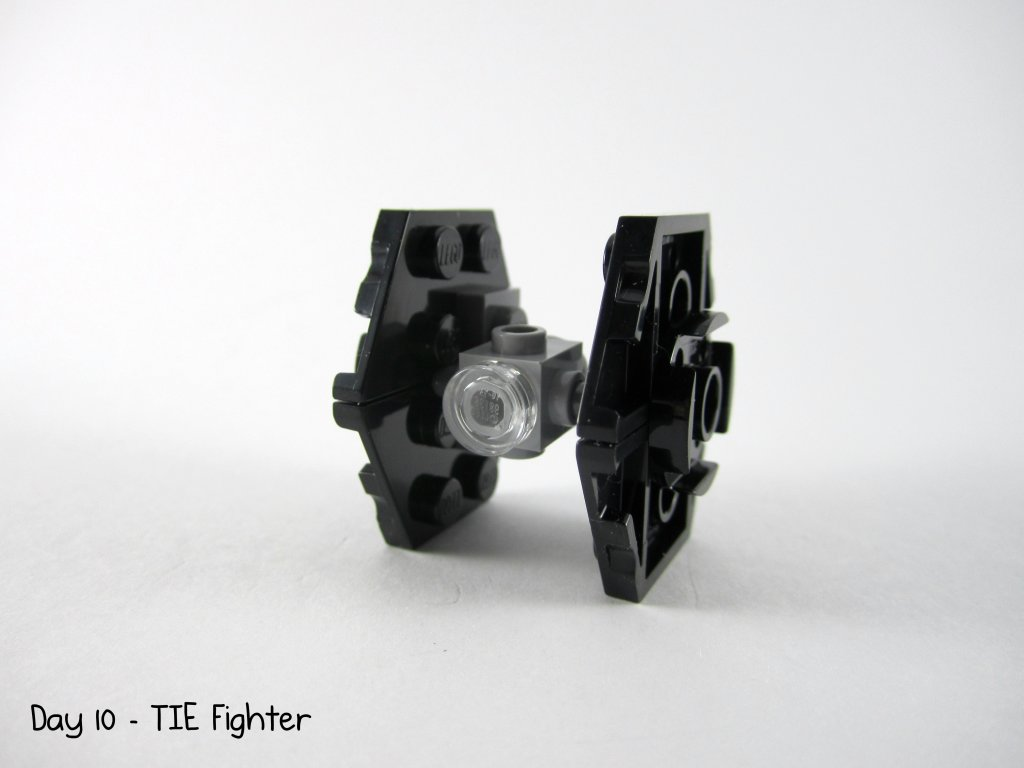 LEGO Star Wars Advent Calendar Day 10 - TIE Fighter