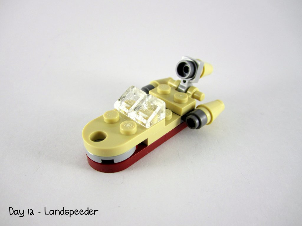 LEGO Star Wars Advent Calendar Day 12 - Landspeeder