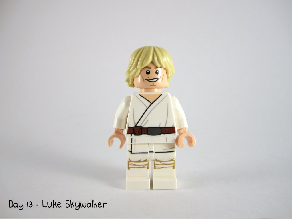 LEGO Star Wars Advent Calendar Day 13 - Luke Skywalker