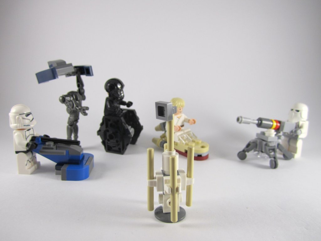 LEGO Star Wars Advent Calendar Day 14 So Far