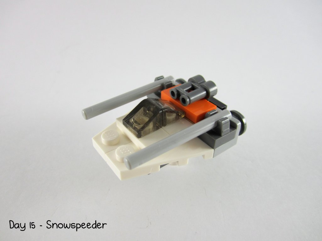 LEGO Star Wars Advent Calendar Day 15 - Snowspeeder