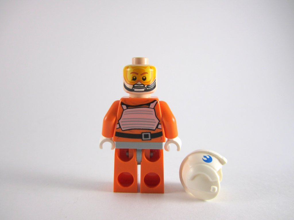 LEGO Star Wars Advent Calendar Day 16 - Snowspeeder Pilot Back