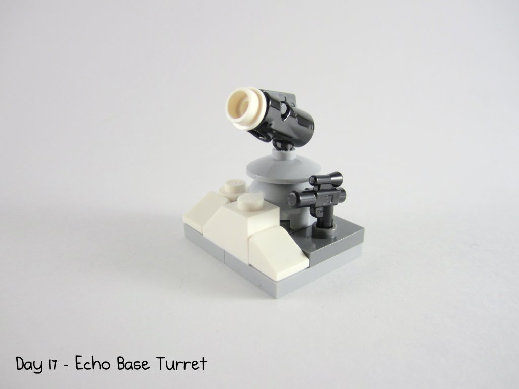 LEGO Star Wars Advent Calendar Day 17 - Echo Base Turret