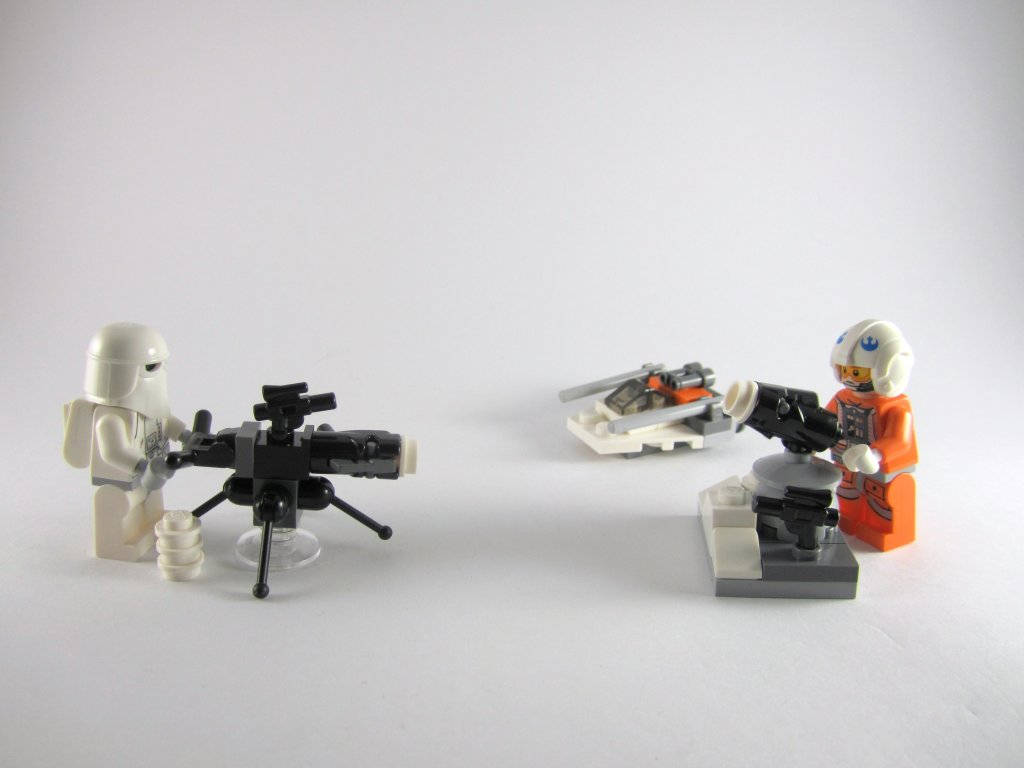 LEGO Star Wars Advent Calendar Day 17 So Far