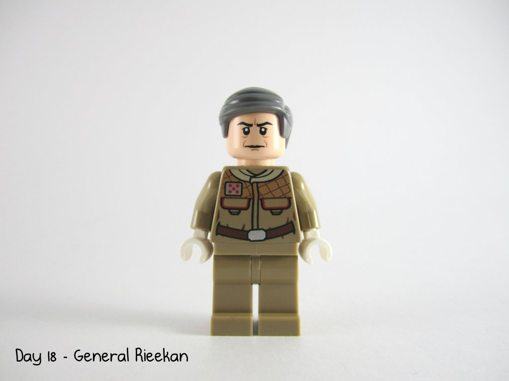 LEGO Star Wars Advent Calendar Day 18 - General Rieekan