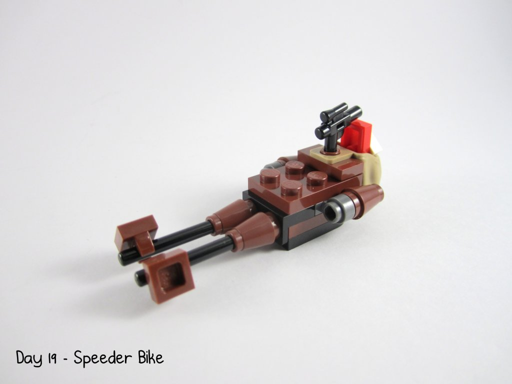 LEGO Star Wars Advent Calendar Day 19 - Speeder Bike