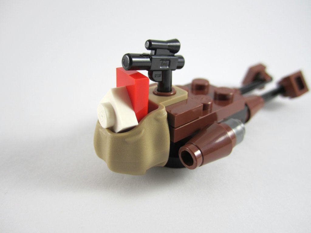 LEGO Star Wars Advent Calendar Day 19 - Speeder Bike Present Sack