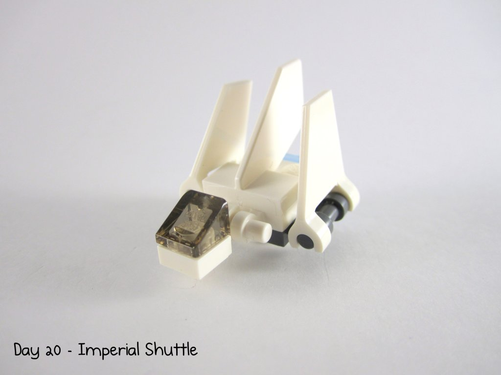 LEGO Star Wars Advent Calendar Day 20 - Imperial Shuttle