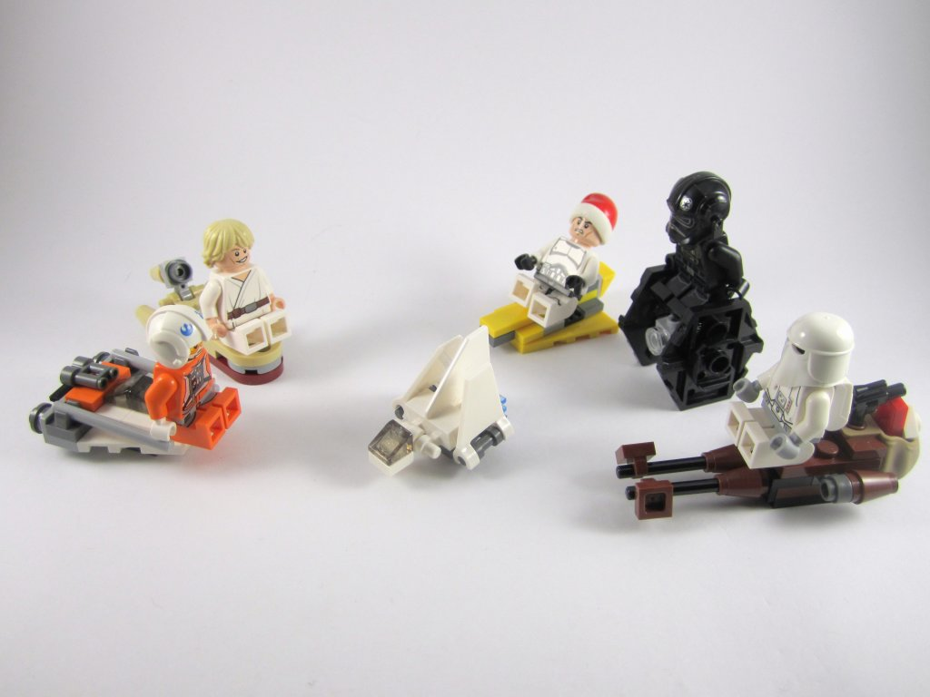 LEGO Star Wars Advent Calendar Day 20 So Far