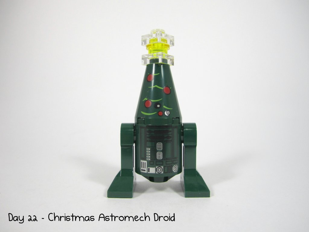 LEGO Star Wars Advent Calendar Day 22 - Christmas Astromech Droid