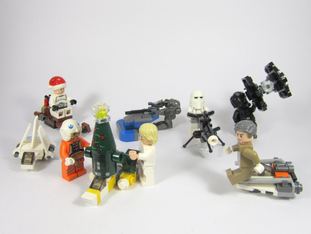 LEGO Star Wars Advent Calendar Day 22 So Far