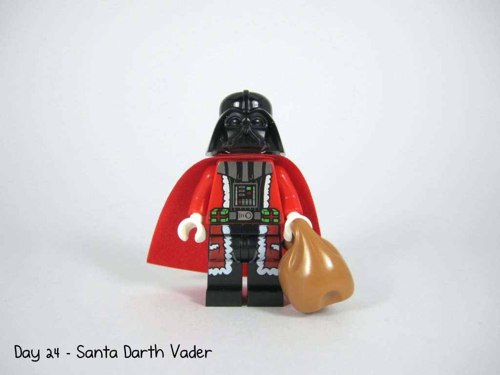 LEGO Star Wars Advent Calendar Day 24 - Santa Darth Vader