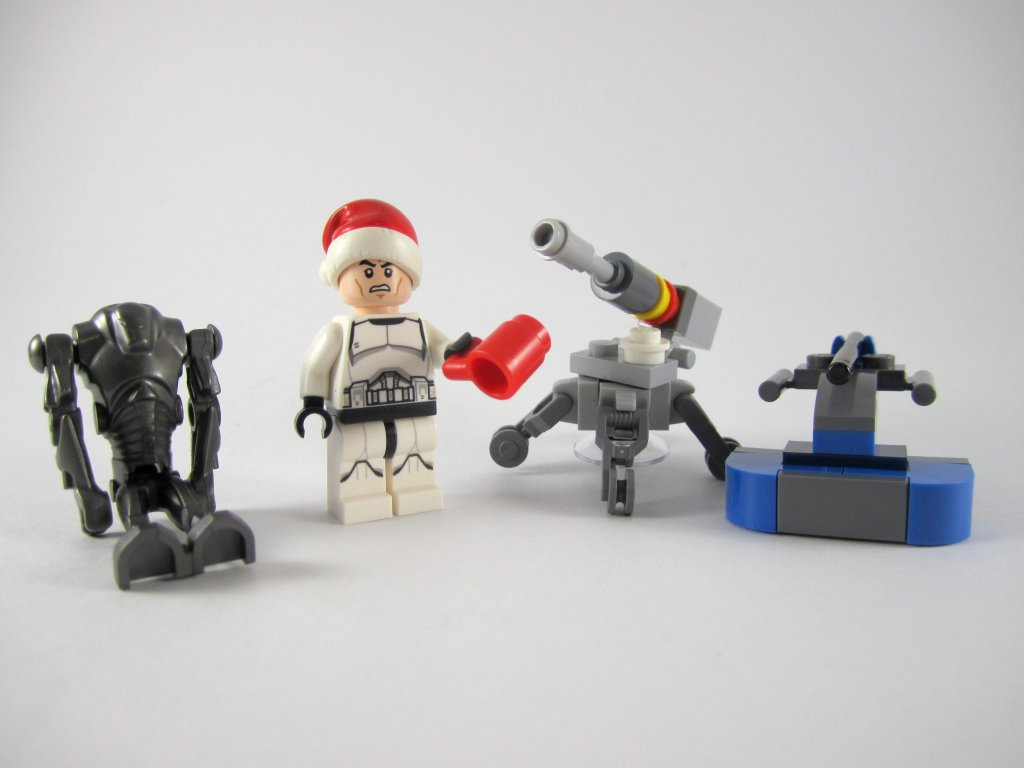 LEGO Star Wars Advent Calendar Day 4 Contents