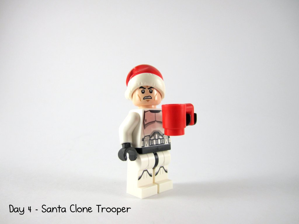 LEGO Star Wars Advent Calendar Day 4 - Santa Clone Trooper