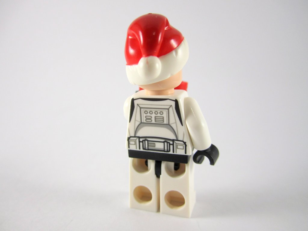 LEGO Star Wars Advent Calendar Day 4 - Santa Clone Trooper Back