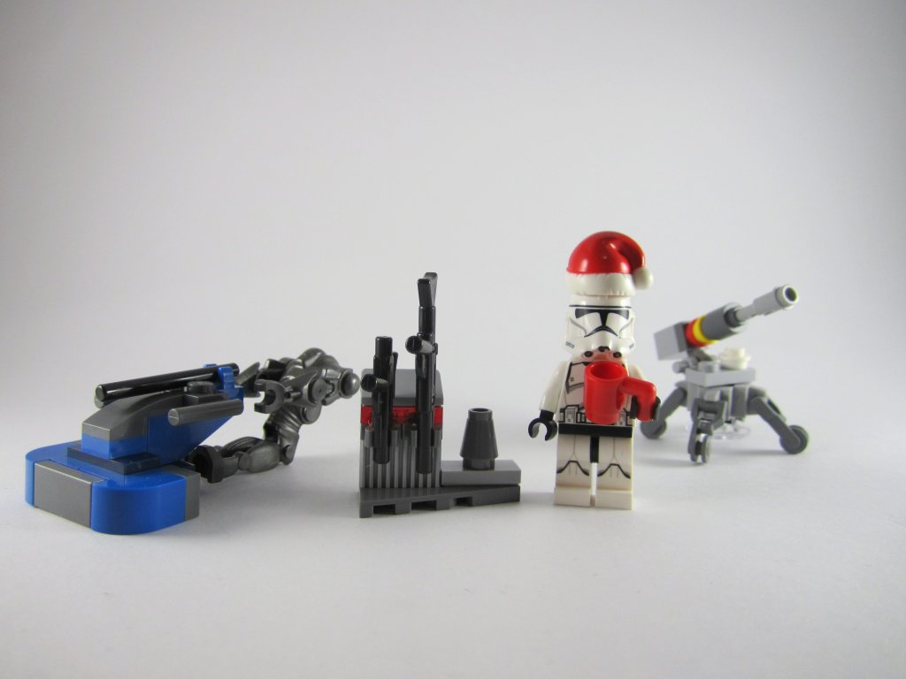 LEGO Star Wars Advent Calendar Day 5 So Far