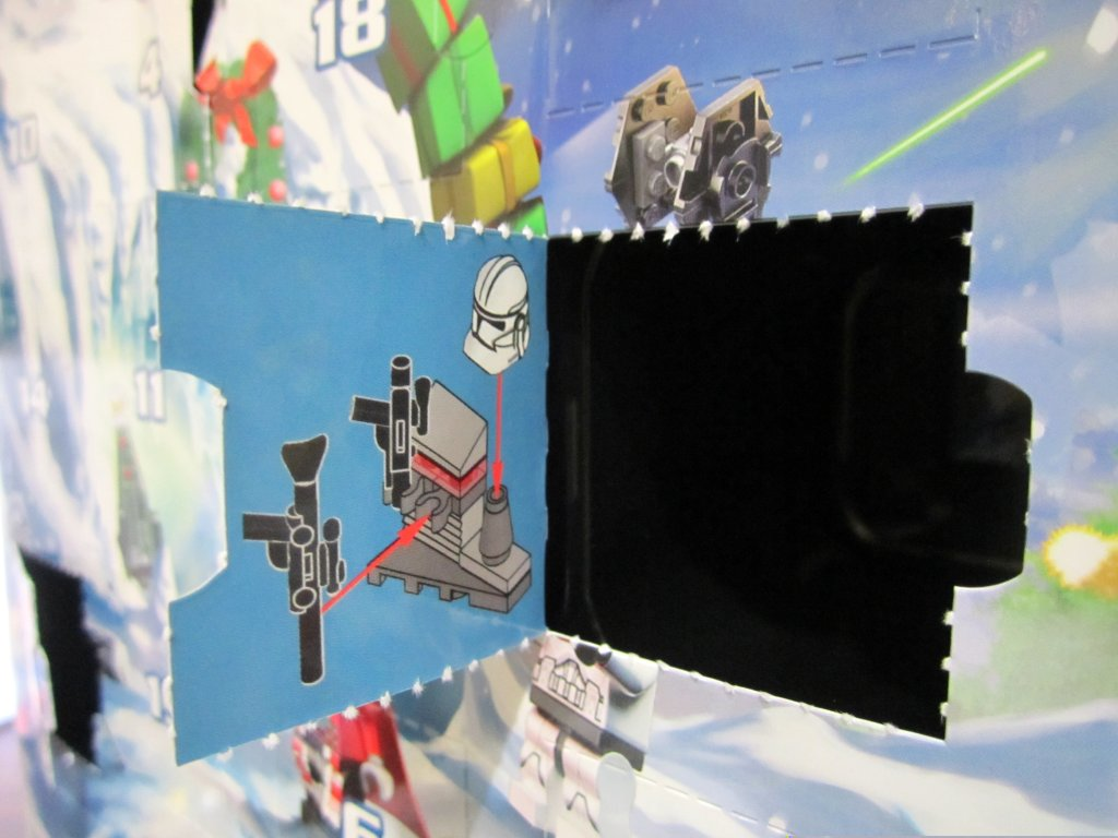 LEGO Star Wars Advent Calendar Day 5 Window