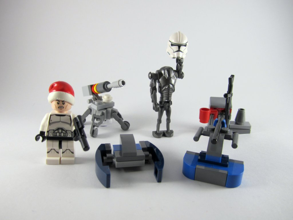 LEGO Star Wars Advent Calendar Day 6 So Far