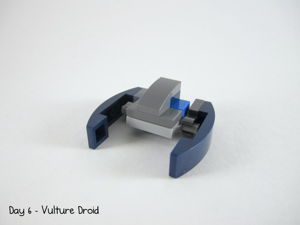 LEGO Star Wars Advent Calendar Day 6 - Vulture Droid