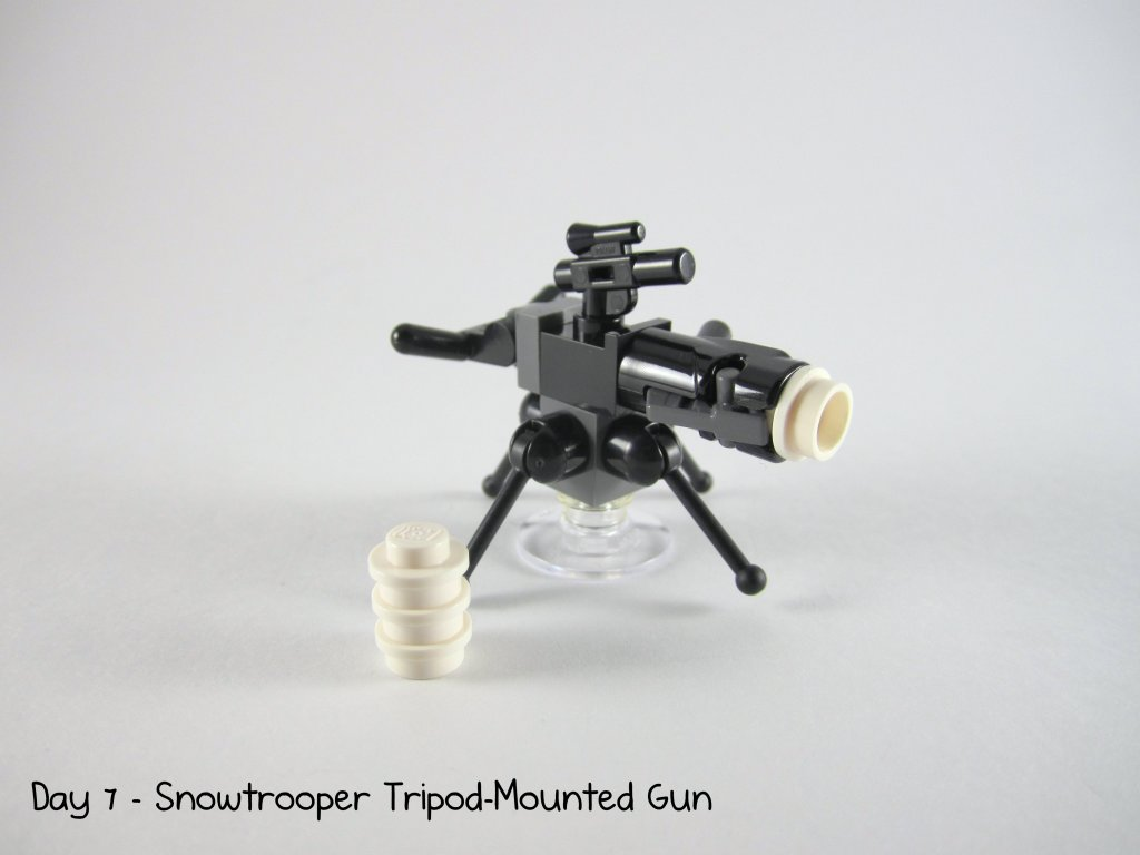 LEGO Star Wars Advent Calendar Day 7 - Snowtrooper Tripod-Mounted Gun