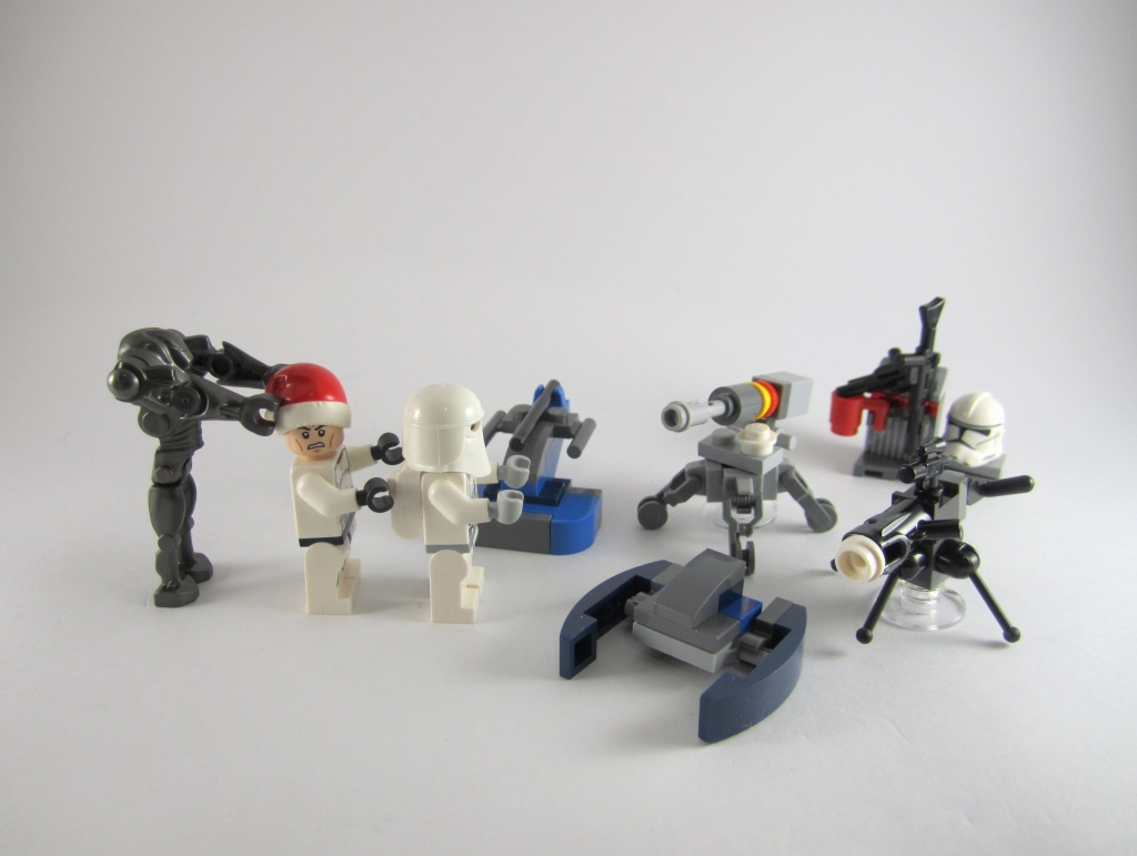 LEGO Star Wars Advent Calendar Day 8 So Far