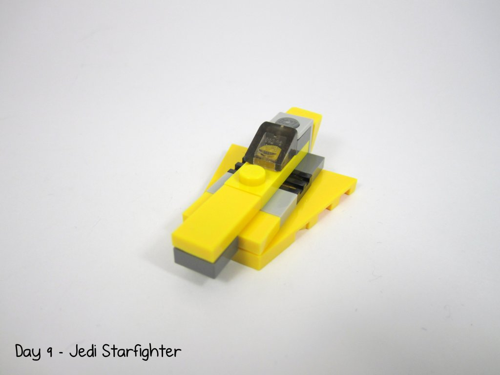 LEGO Star Wars Advent Calendar Day 9 - Jedi Starfighter