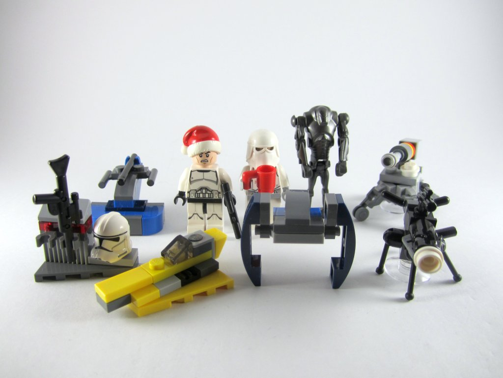 LEGO Star Wars Advent Calendar Day 9 So Far