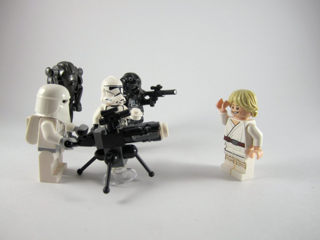LEGO Star Wars Advent Calendar Luke Skywalker and Friends