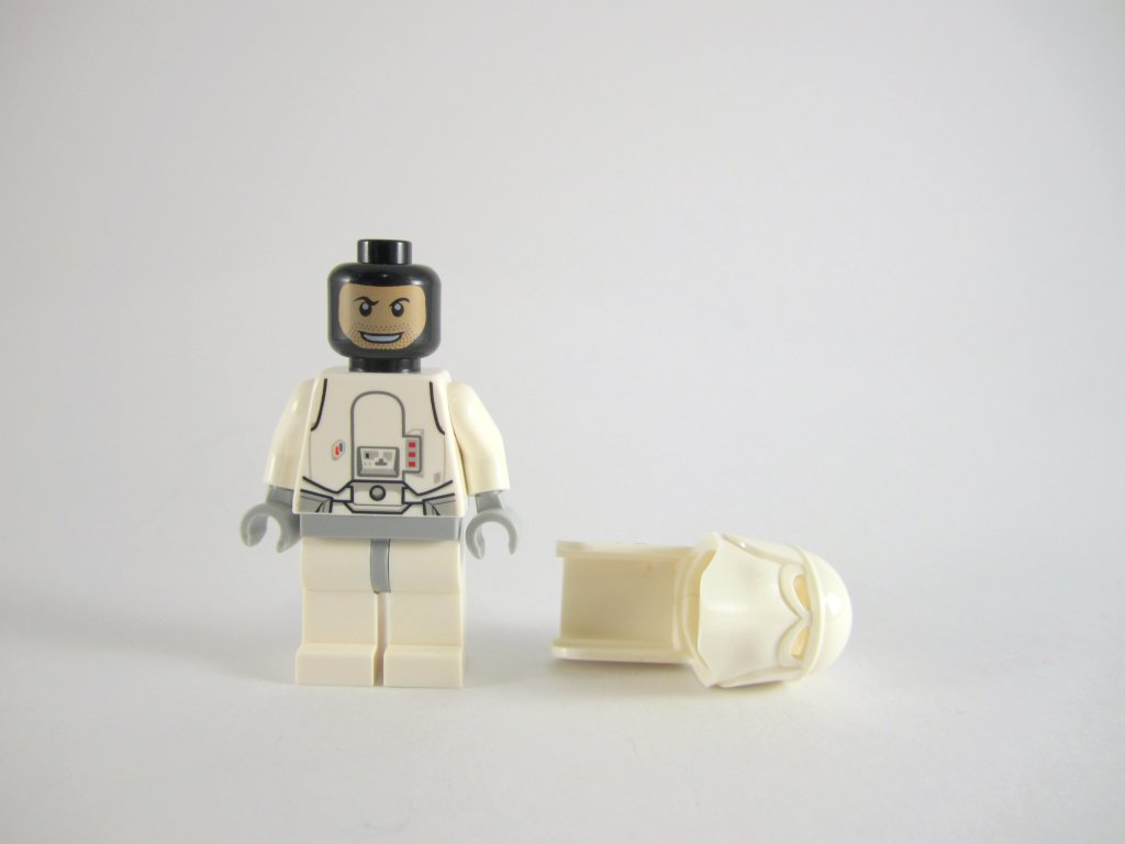 LEGO Star Wars Advent Calendar Snowtrooper Face
