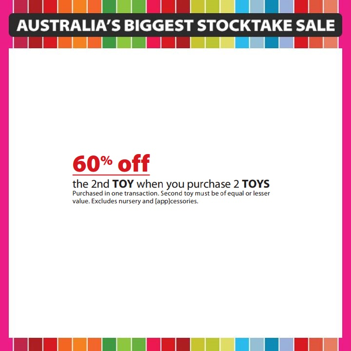 Myer Boxing Day LEGO Sale 2014