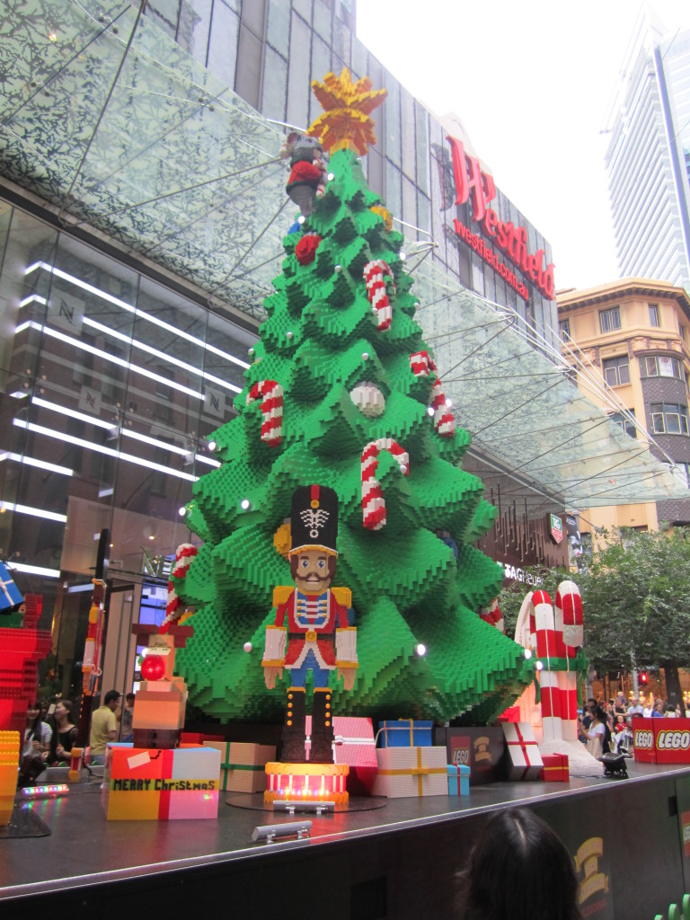 Sydney LEGO Christmas Tree