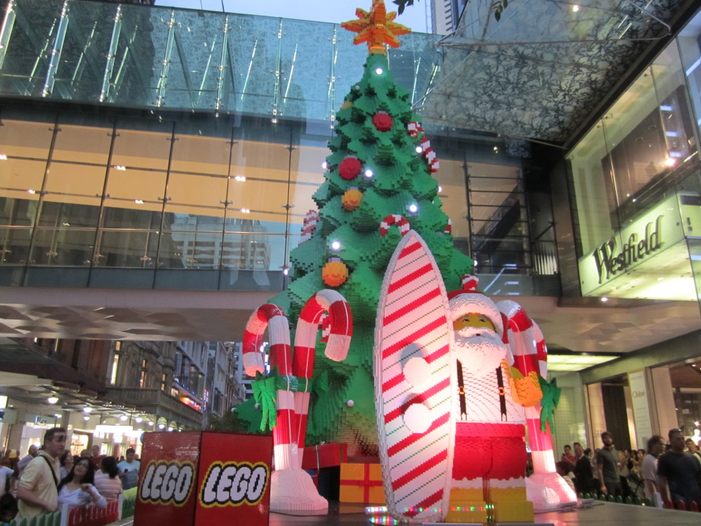 Sydney LEGO Christmas Tree Lights