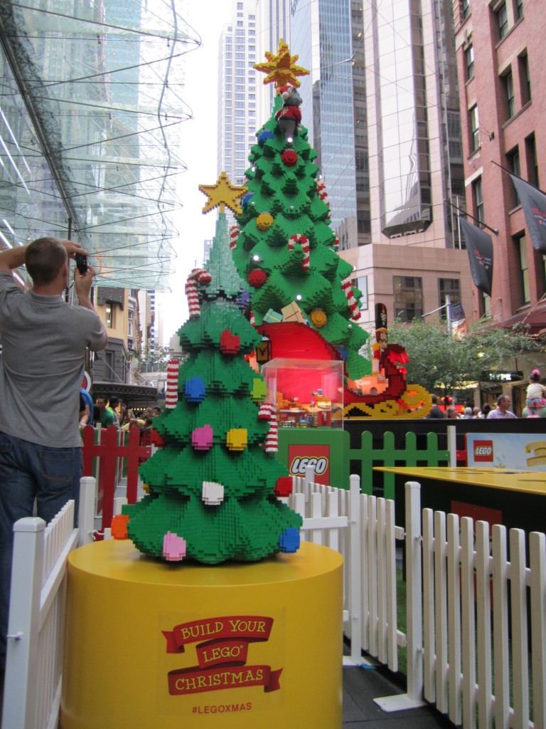Sydney LEGO Christmas Tree Miniature Model