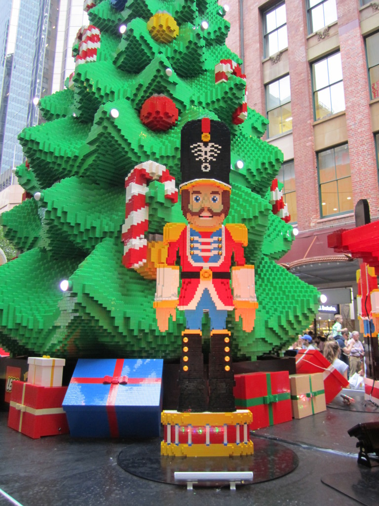 Sydney LEGO Christmas Tree Nutcracker