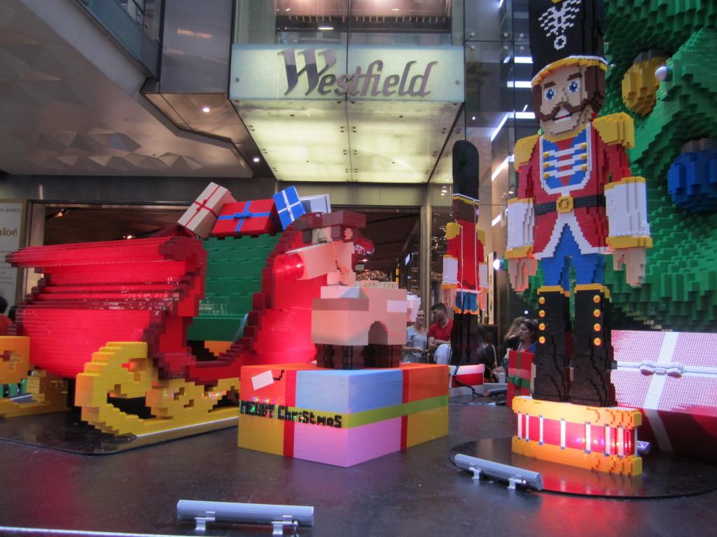 Sydney LEGO Christmas Tree Sleigh